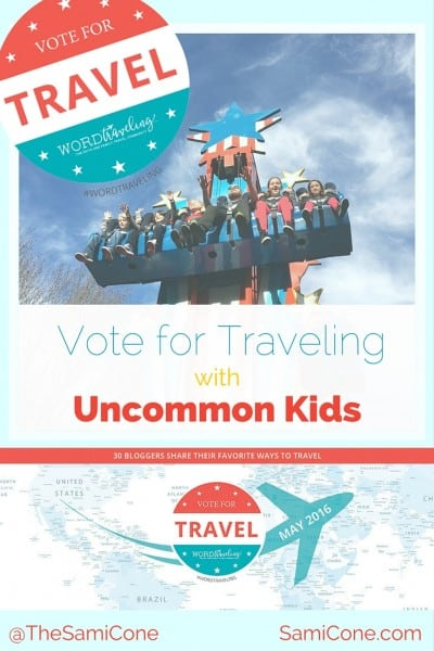 vote for traveling with uncommon kids
