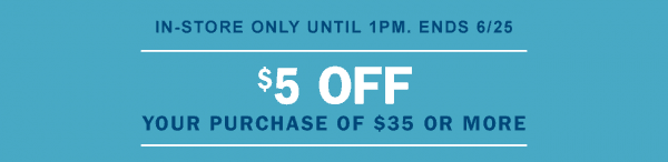 $5 off $35 Old Navy