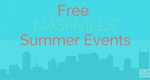 free nashville summer events