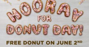 National Donut Day- Dunkin Donuts