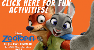Free Zootopia Activities & Printables