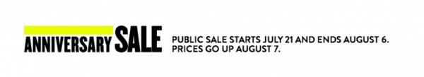 Nordstrom Sale Dates Anniversary Sale July 2017