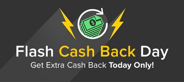 Flash Cash Back Day at Ebates- July 12