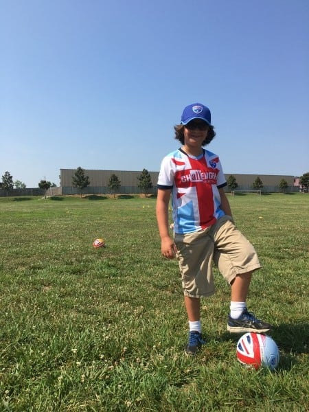Britton British Soccer Camp Ball