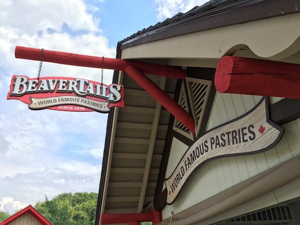 Dollywood's Splash Country retreat beaver tails