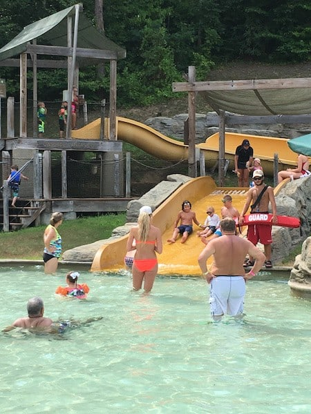 Dollywood's Splash Country retreat kids slide