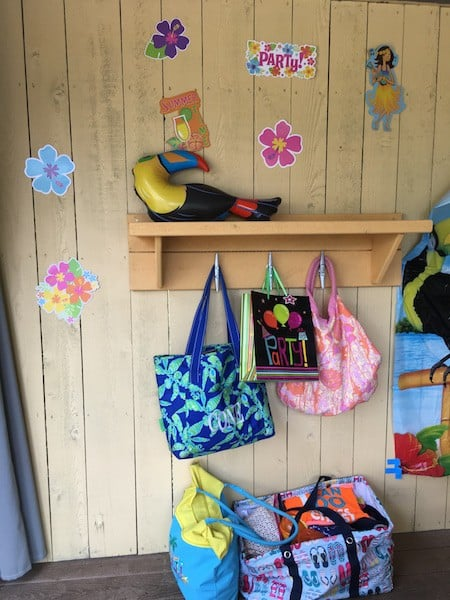 Dollywood's Splash Country retreat bags