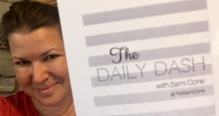 The Daily Dash: August 19, 2016 {Rainy Friday}