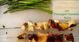 summer grilling recipe grilled citrus chicken kabob