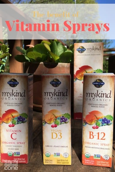 benefit of vitamin sprays mykind organics