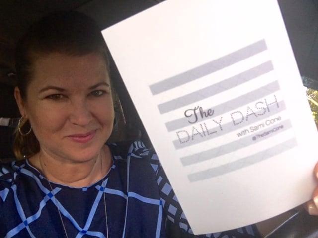 The Daily Dash: September 1, 2016 {Half-Birthday}