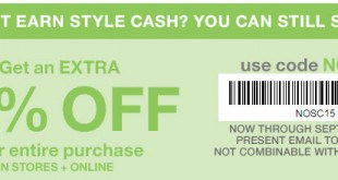 Gap Outlet Printable Coupon September 2016