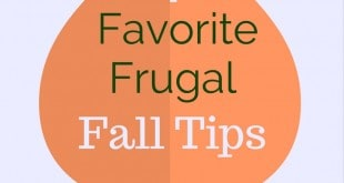 4 favorite frugal fall tips
