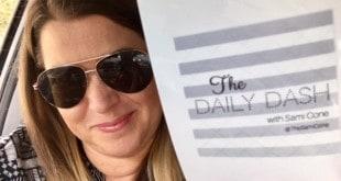The Daily Dash: October 11, 2016 {Broken Arm}