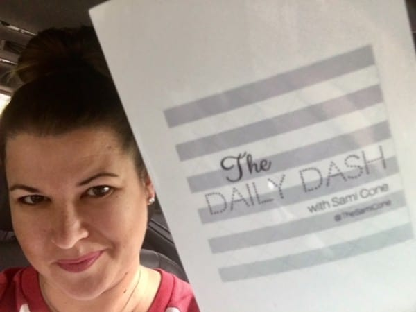 The Daily Dash: October 14, 2016 {Writing Day}
