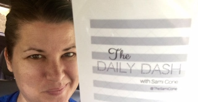 The Daily Dash: October 20, 2016 {Honors Orchestra}