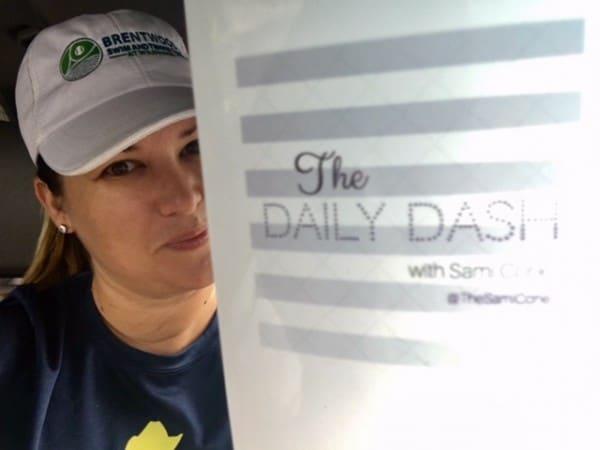 The Daily Dash: October 3, 2016 {Fall Break}