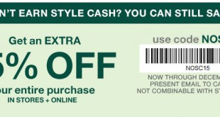 Gap Outlet Printable Coupon December 2016