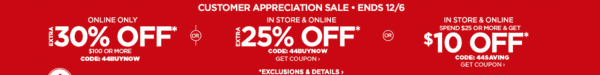 JCPenney Friends and Family Sale Dates 2016