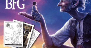 Disney's The BFG Free Activity Sheets and Quiz