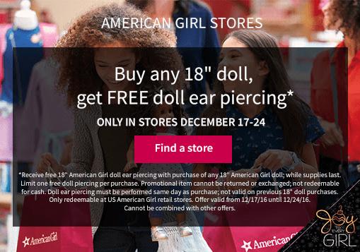 Free-American-Girl-Doll-Ear-Piercing
