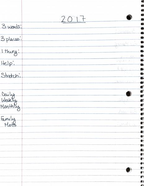 2017-goal-planning