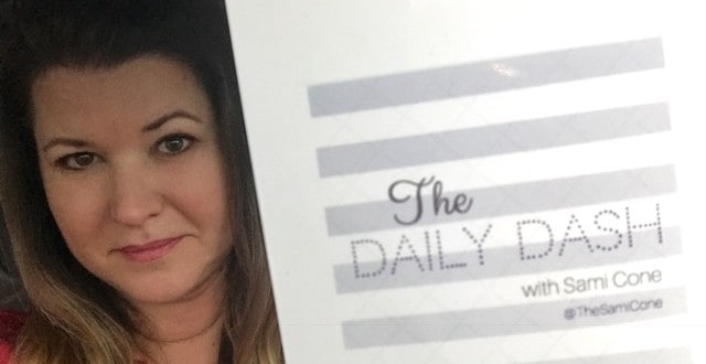 The Daily Dash: January 13, 2017 {Live on TV}