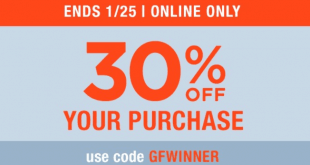 Gap Outlet Printable Coupon January 2017