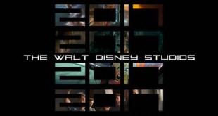 2017 Disney Movie Schedule