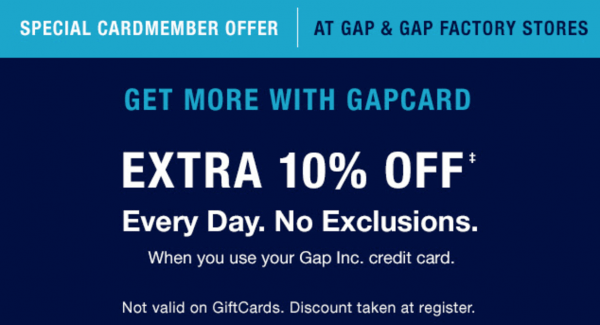 Gap Outlet Printable Coupon February 2017