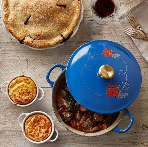 William Sonoma Offers Disney's Beauty and the Beast Le Creuset Cookware