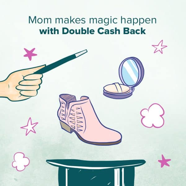 Double Cash Back Week at Ebates- Mom and Kids Week