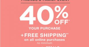 Gap Outlet Printable Coupon March 2017