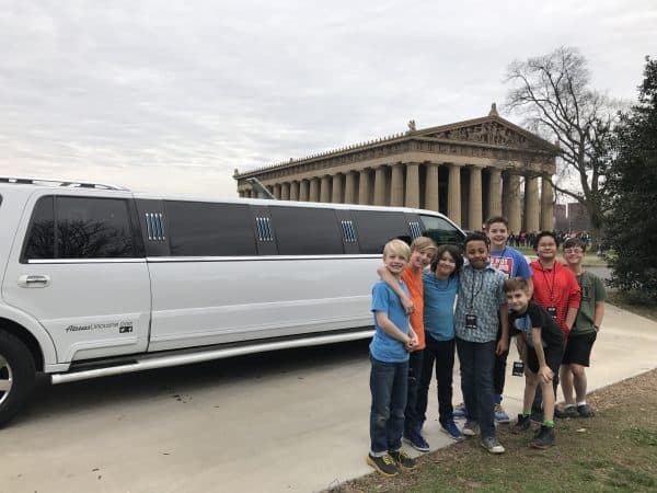 limo-birthday-parthenon-britton
