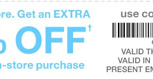 Gap Outlet Printable Coupon May 2017