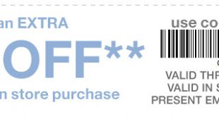 Gap Outlet Printable Coupon June 2017
