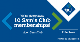 #JoinSamsClub Giveaway