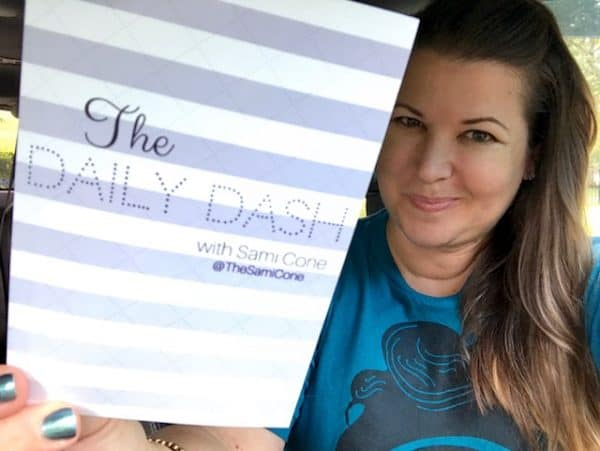 The Daily Dash: July 26, 2017 {My Daughter's 13th Birthday}