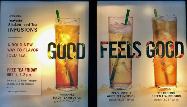 Free Tea Friday at Starbucks