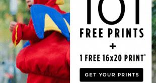 101 Free Shutterfly Prints