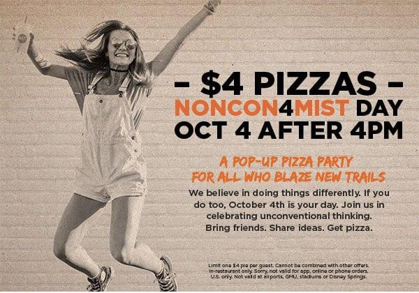 $4 Blaze Pizzas
