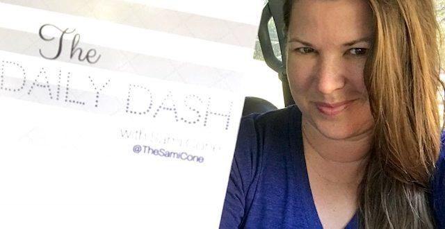 The Daily Dash: September 22, 2017 {#FirstDayOfFall & #NashALSwalk #ALS}