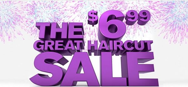 Great Clips $6.99 Haircut Sale 2018
