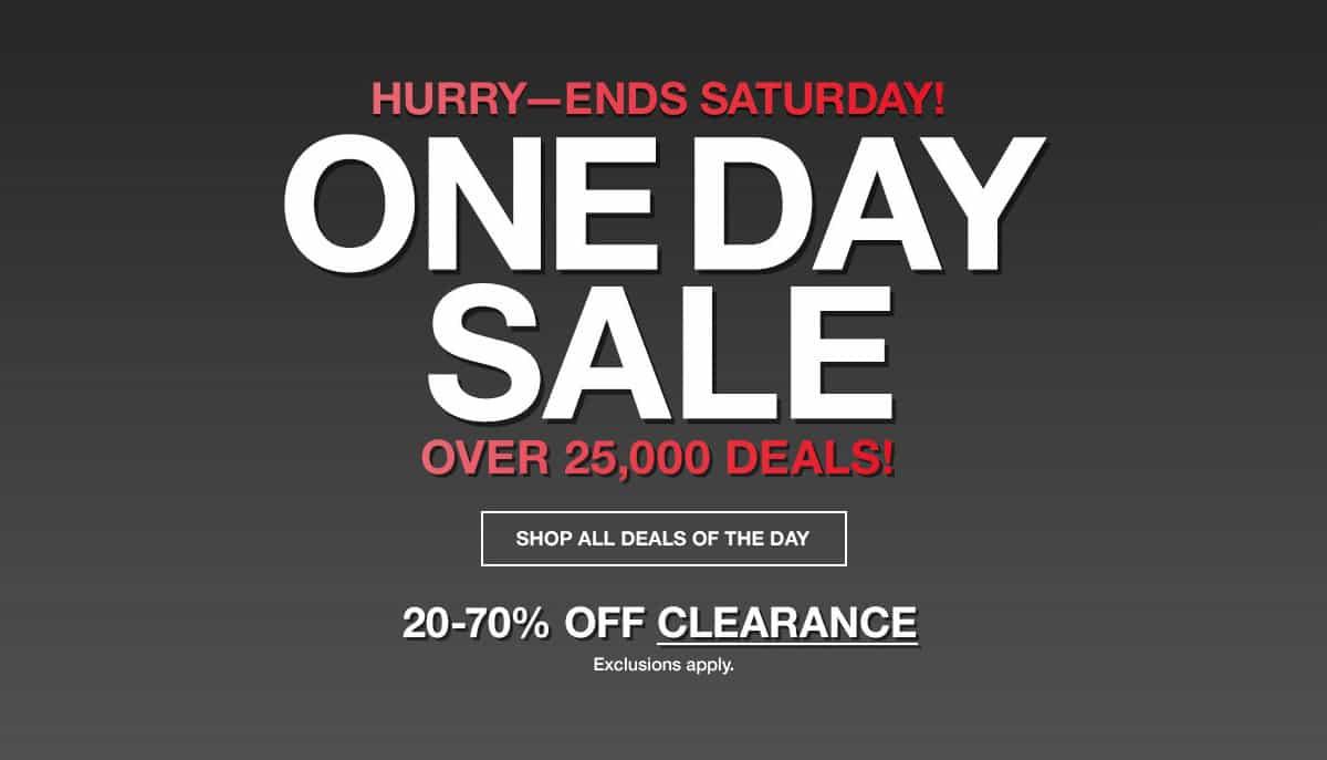Macys One Day Sale May 2018