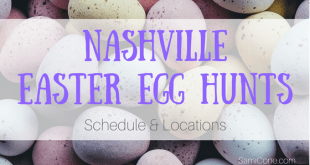 nashville easter egg hunts schedule and locations