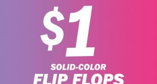 Old Navy One Day Wonder Flip Flop Sale July 20, 2018