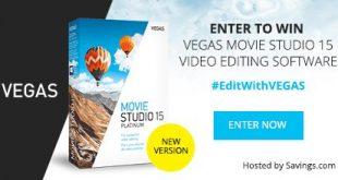 #EditWithVEGAS Giveaway