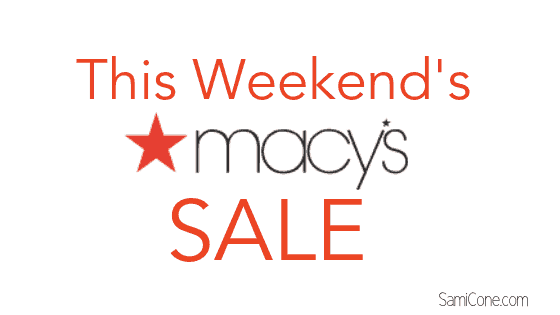 Macys Sale this weekend Macy's clearance sale Macys coupon