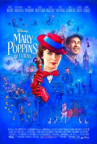 New Mary Poppins Returns Trailer & Poster Released!