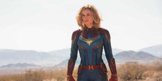 Marvel Studios' Captain Marvel Trailer and Poster